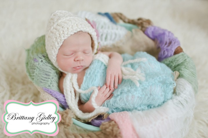 Basket Baby | Brittany Gidley Photography LLC