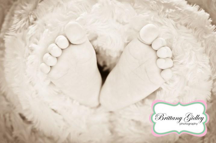 Baby Feet | Brittany Gidley Photography LLC