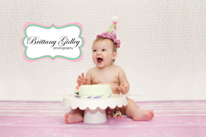 One Year Birthday Photographer | Brittany Gidley Photography LLC