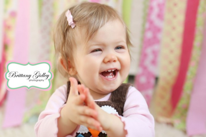 12 Month Baby Pictures | Brittany Gidley Photography LLC