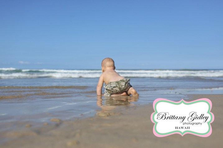 Hawaii Baby Photographer | Brittany Gidley Photography LLC