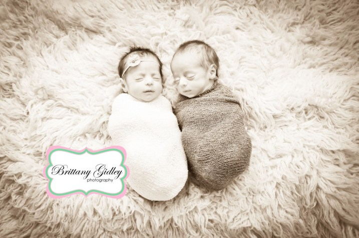 Boy Girl Twins | Brittany Gidley Photography LLC