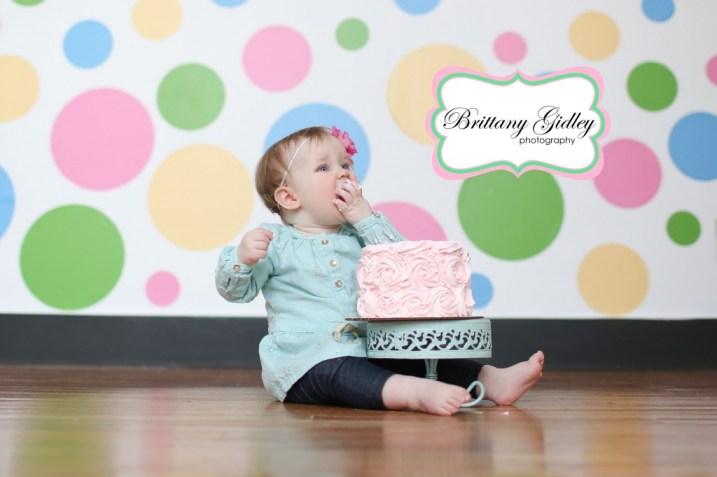 Cake Smash Photography | Brittany Gidley Photography LLC