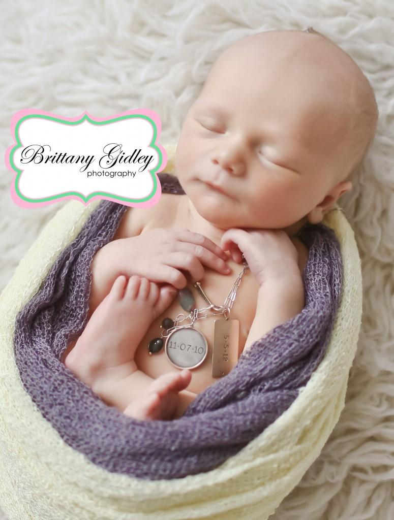 Newborn Charm | Brittany Gidley Photography LLC