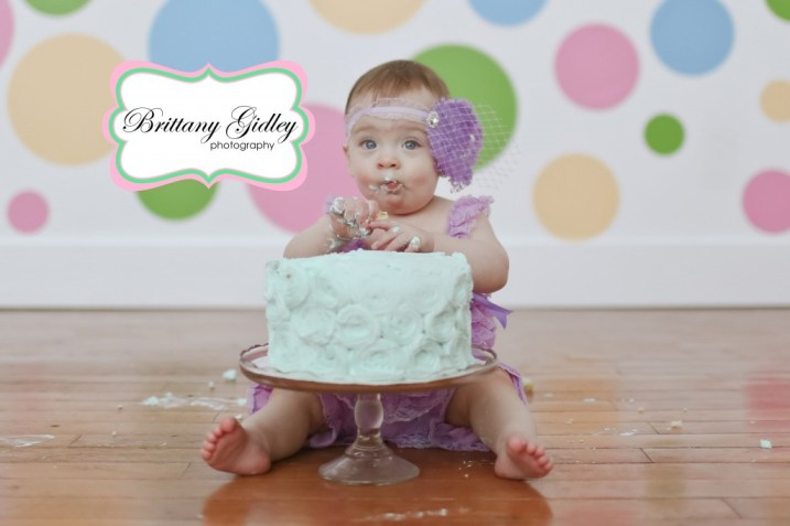 Cake Smash| Brittany Gidley Photography LLC