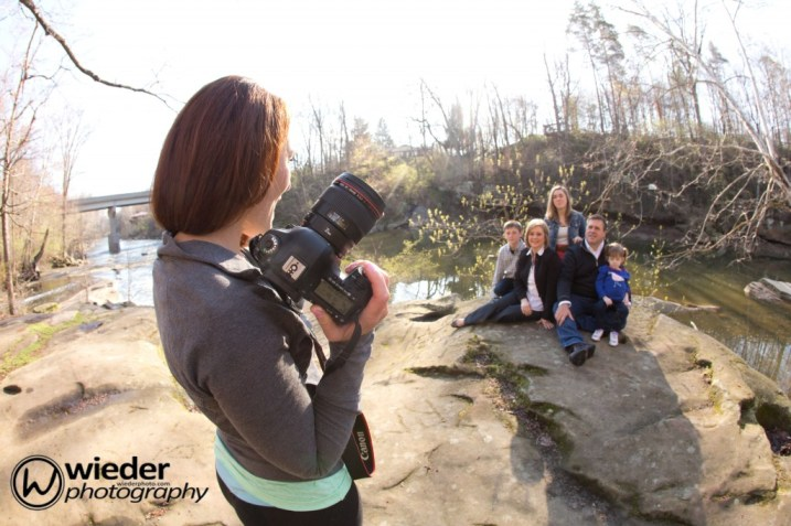 Behind The Scenes | Fortier Park | Brittany Gidley Photography LLC