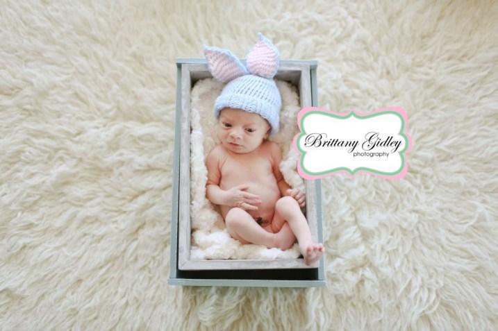 Easter Newborn | Brittany Gidley Photography LLC