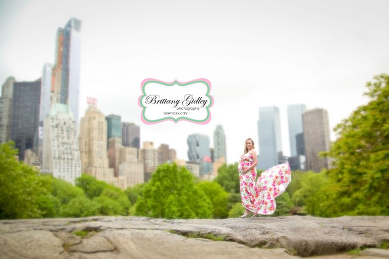Central Park Maternity Photography | NYC | Brittany Gidley Photography LLC