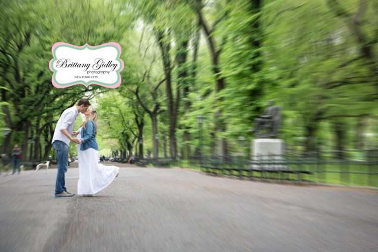 Central Park Pregnancy Photography | NYC | Brittany Gidley Photography LLC