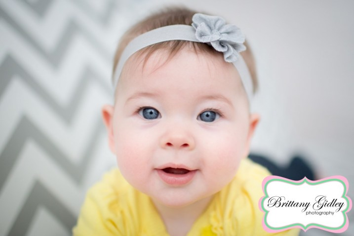 6 Month Old | Brittany Gidley Photography LLC