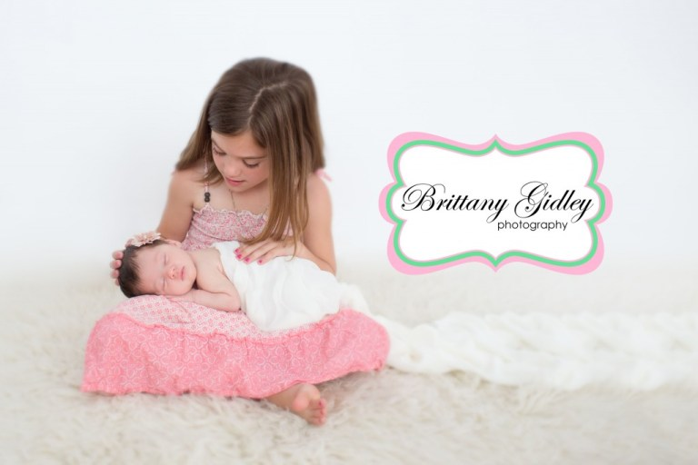 Creative Newborn Photography | Brittany Gidley Photography LLC