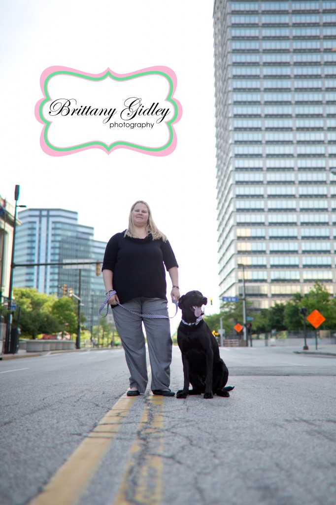 Downtown Cleveland Portrait Photography | Brittany Gidley Photography LLC