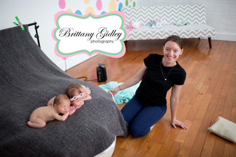 Newborn Mentoring | Behind The Scenes | Brittany Gidley Photography LLC | Pamela Gammon Photography