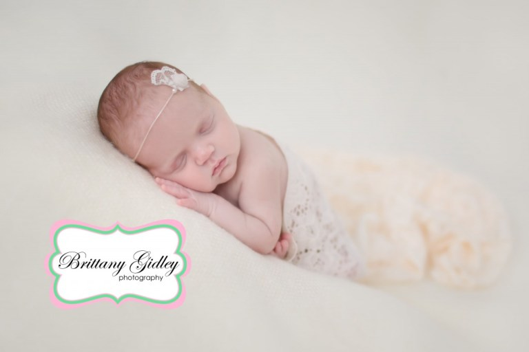Newborn Baby Girl | Taco Pose | Brittany Gidley Photography LLC