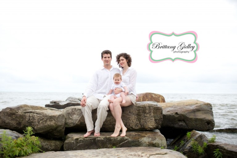 Beach Session | Baby | Family Photographer | Brittany Gidley Photography LLC