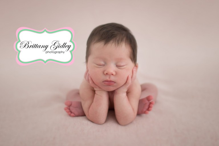 Froggy Pose | Brittany Gidley Photography LLC