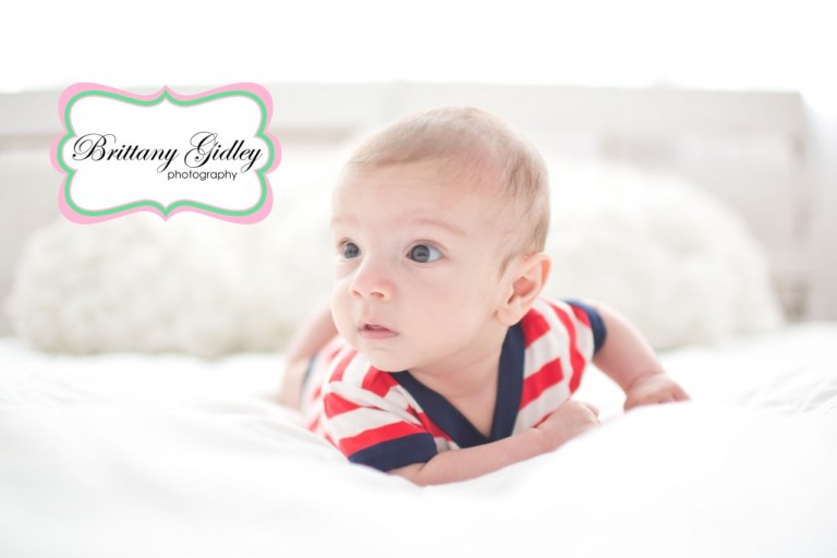 3 Month Old Baby | Start With The Best | Brittany Gidley Photography LLC