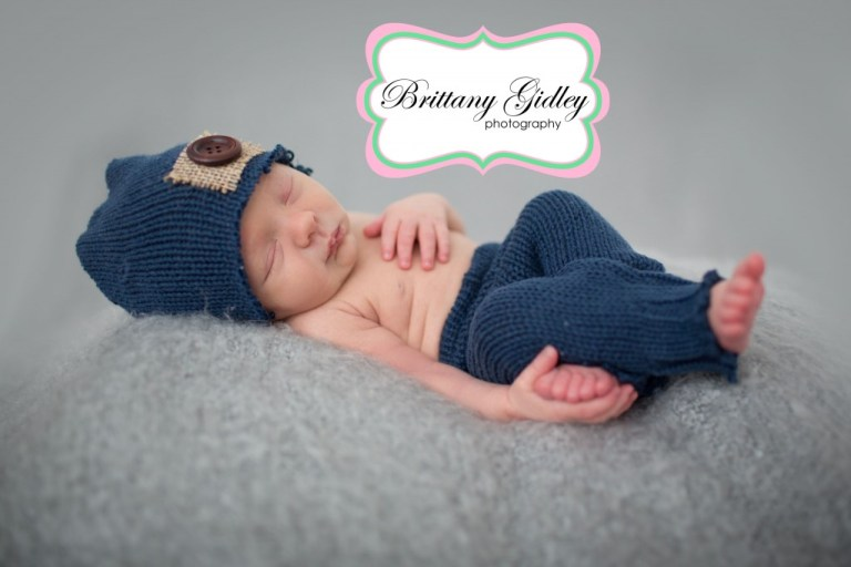 Upcycled | Newborn Boy | Start With The Best | Brittany Gidley Photography LLC