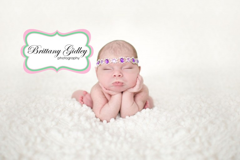 Froggy Pose | Best Baby Photographer | Brittany Gidley Photography LLC