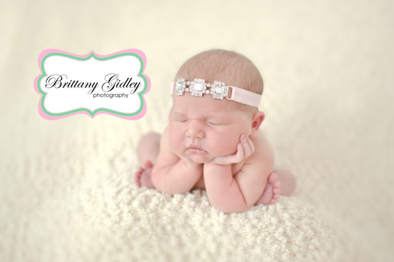 Froggy Pose | Best Newborn Photographers | Start With The Best | Brittany Gidley Photography LLC