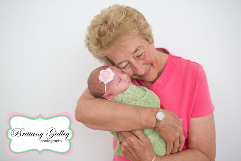 Grandmother | Grandma Newborn | Best Newborn Photographers | Start With The Best | Brittany Gidley Photography LLC