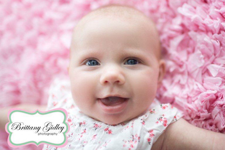 3 Month Old Baby Photography | Brittany Gidley Photography LLC