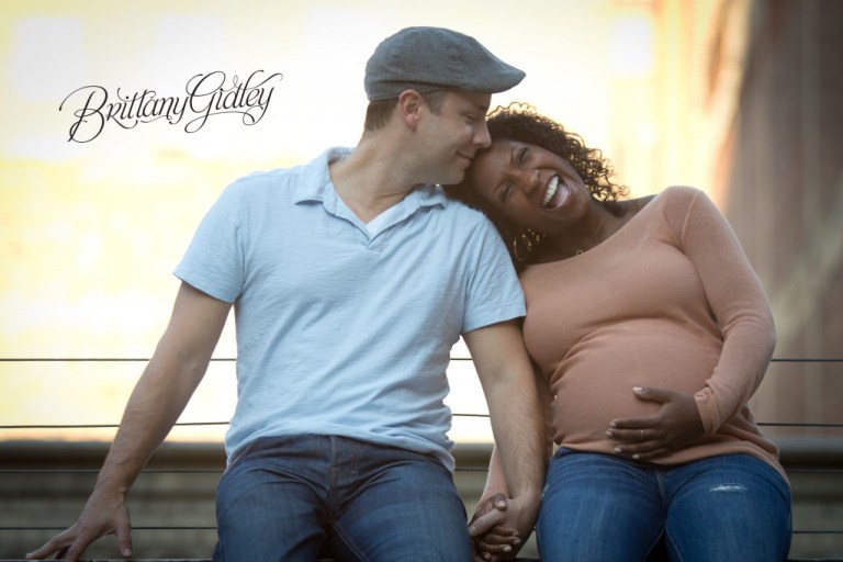 Pregnancy | Cleveland Ohio | East 4th St | East Fourth Street | Sunset | Expecting Mother
