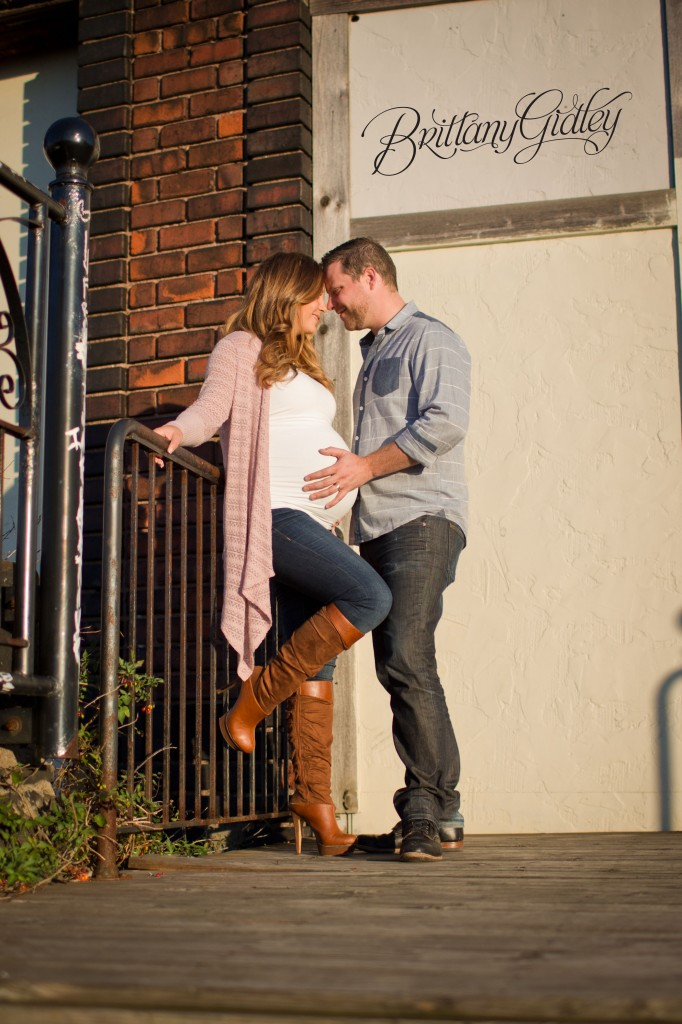 Fall Maternity | Viaduct Bridge | Cleveland OH | Urban Maternity Session | Brittany Gidley Photography LLC