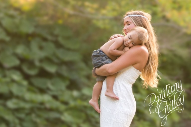 Cleveland Photography | River | Sunset | Gorgeous | Toddler Photography | Brittany Gidley Photography LLC | Mother and Son