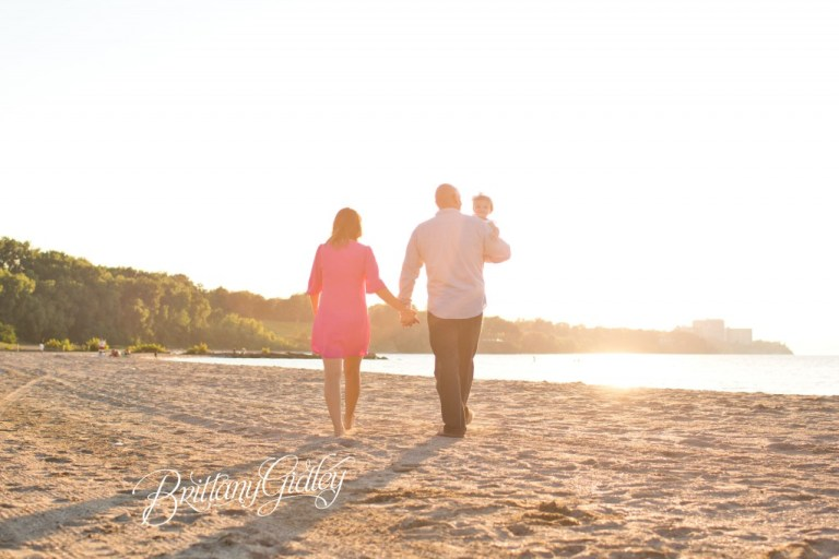 Sunset Photography | 12 Months | Baby Photography | Family Session | Edgewater Beach | Edgewater Park | Cleveland Ohio