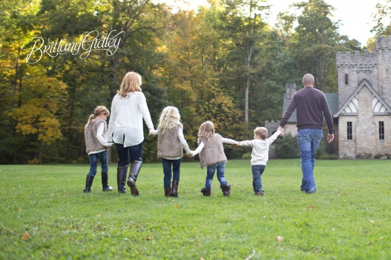 Squires Castle Family Photographer | Brittany Gidley Photography LLC | Children | Family | Favorite Images | Fall | Inspiration | Cleveland Ohio | Squires Castle | Fall Family Pictures
