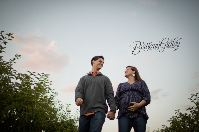Autumn | Maternity Photographer | Love | Fall | Pregnancy | Baby Belly | Brittany Gidley Photography LLC