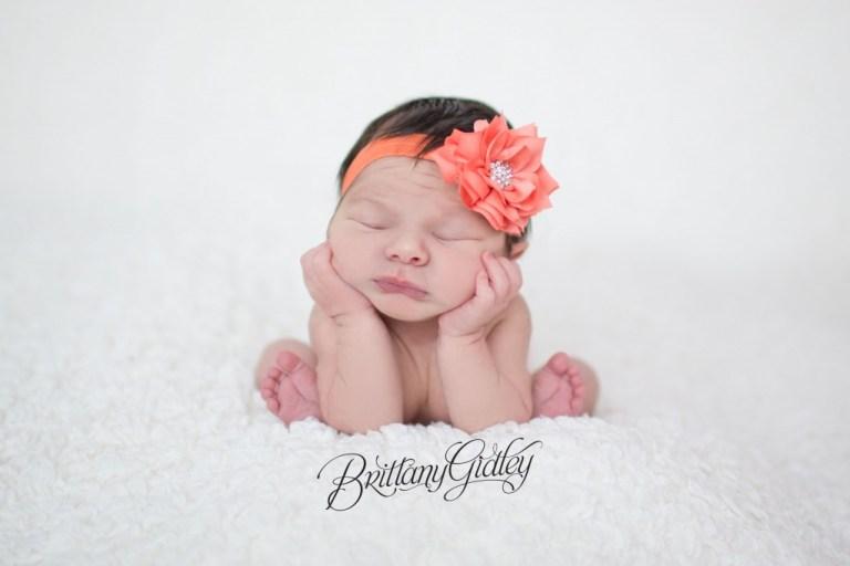 White   Newborn   Posing   Newborn Inspiration   Froggy Pose   Brittany Gidley Photography LLC   Newborn