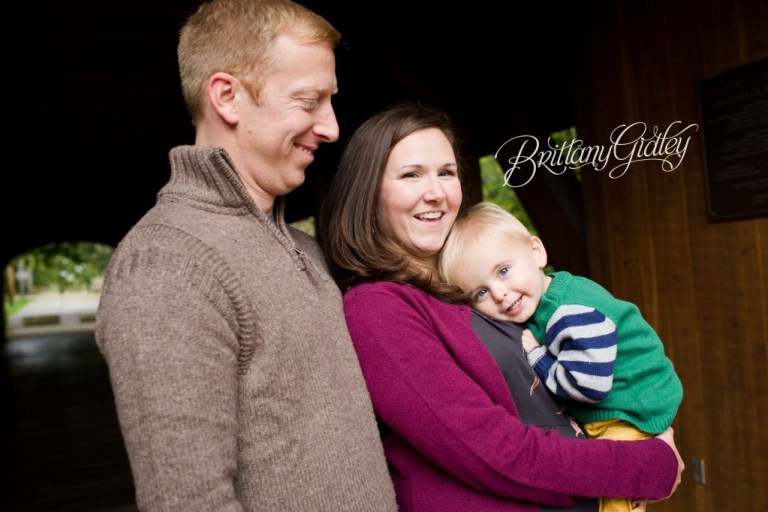 Grand Pacific Junction | Covered Bridge | Family | Brittany Gidley Photography LLC