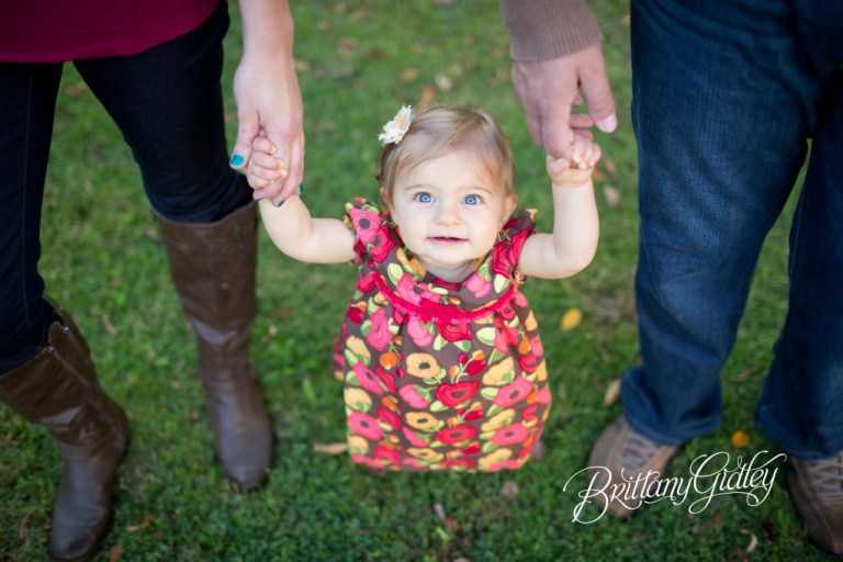 12 Month Baby | Boots | Fall | Autumn | Ohio | Brittany Gidley Photography LLC