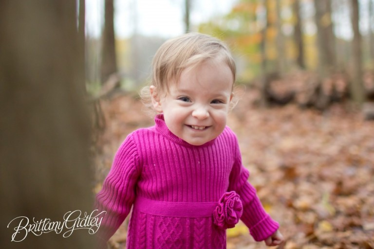 Fall Toddler Photography | Brittany Gidley Photography LLC | Autumn | Leaves