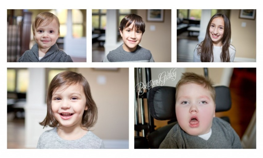 Home Family Session | North Royalton Photographer | Family of 7 | Brittany Gidley Photography LLC