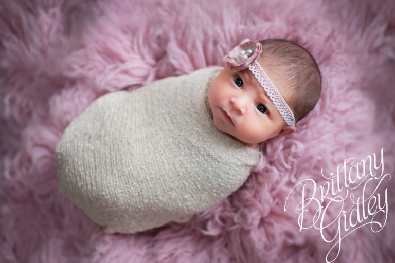 Celebrity Newborn Photographer | Introducing Eliana | Start With The Best | Pink Flokati | Newborn | Brittany Gidley Photography LLC