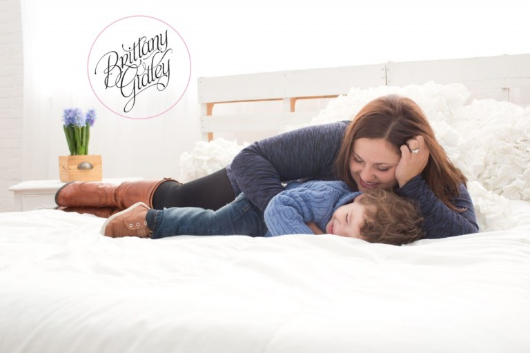 Studio Family Photographer | Mother and Son | Toddler | Family | Inspiration | Brittany Gidley Photography LLC