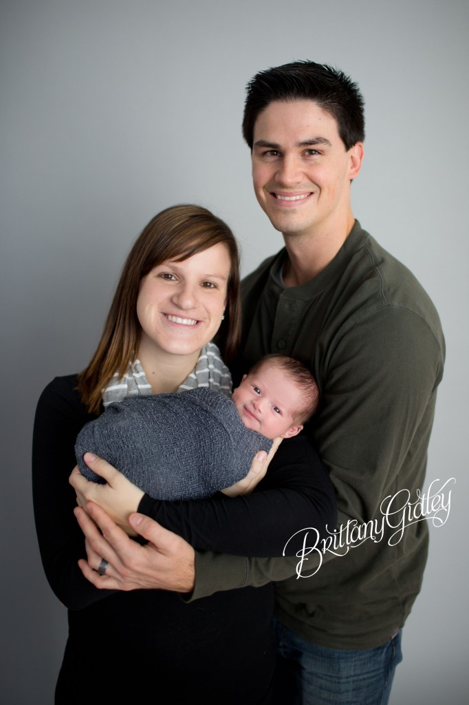 Newborn Studio | Family | Baby Boy | Cleveland Ohio | Start With The Best | Brittany Gidley Photography LLC