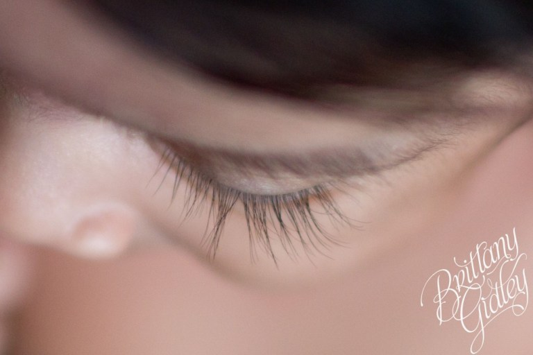 Newborn Girl | Details | Lashes | Cleveland Ohio | 44114 | Start With The Best | Brittany Gidley Photography LLC