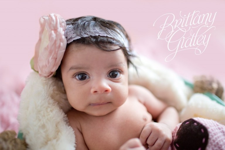 Newborn Girl | Pink | Baby Girl | Cleveland Ohio | 44114 | Start With The Best | Brittany Gidley Photography LLC
