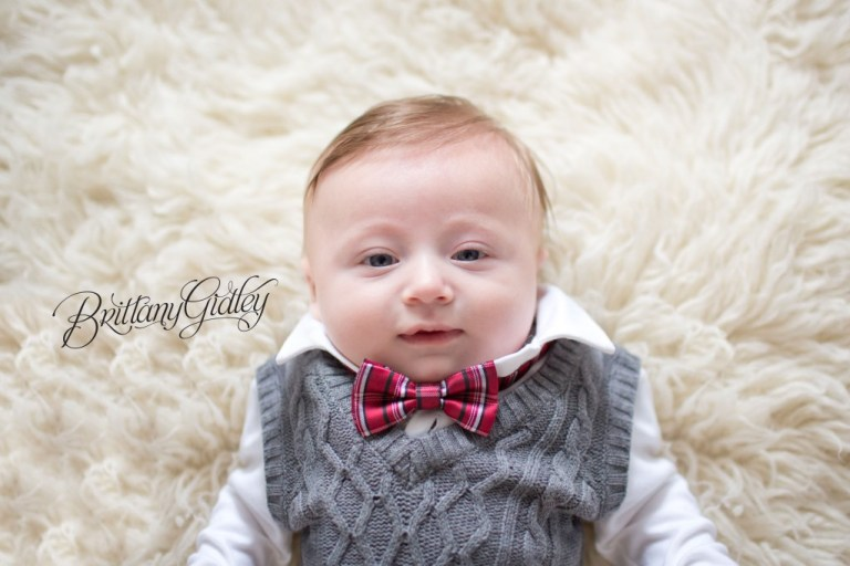 Holiday Baby | Best Baby Photography | Brittany Gidley Photography LLC