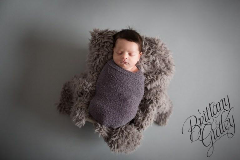 Newborn Boy | Gray | Baby Boy | Cleveland Ohio | 44114 | Start With The Best | Brittany Gidley Photography LLC