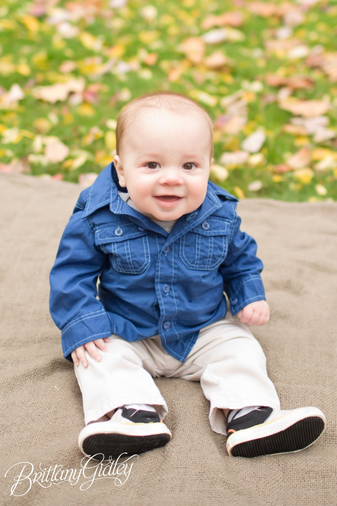 6 Month Baby | Family | Start With The Best | Brittany Gidley Photography LLC