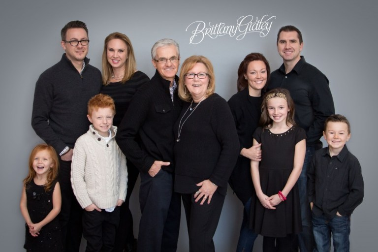 Extended Family Portraits | Family | Surprise Photo Shoot | Start With The Best | BGP | Love | Brittany Gidley Photography LLC