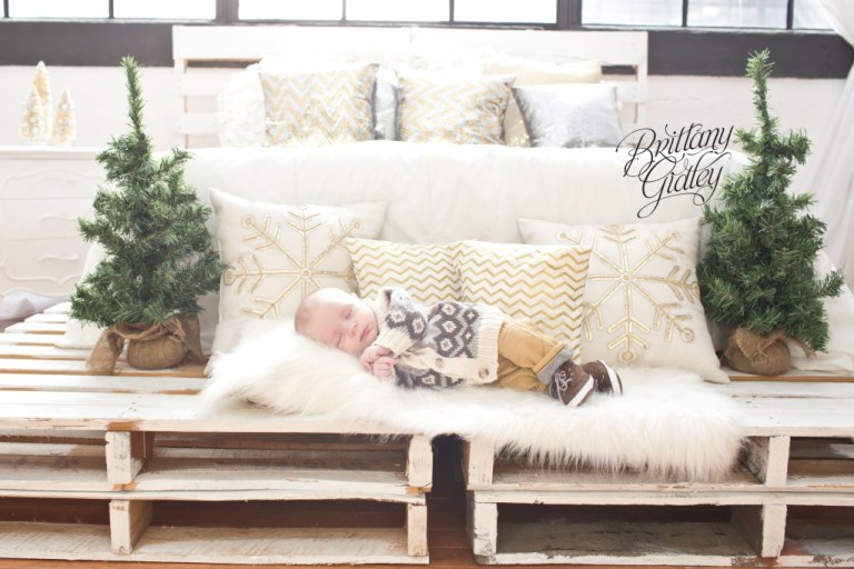 Baby Photographer | Christmas Baby | Brittany Gidley Photography LLC | Start With The Best | Family | Best Newborn Photographer