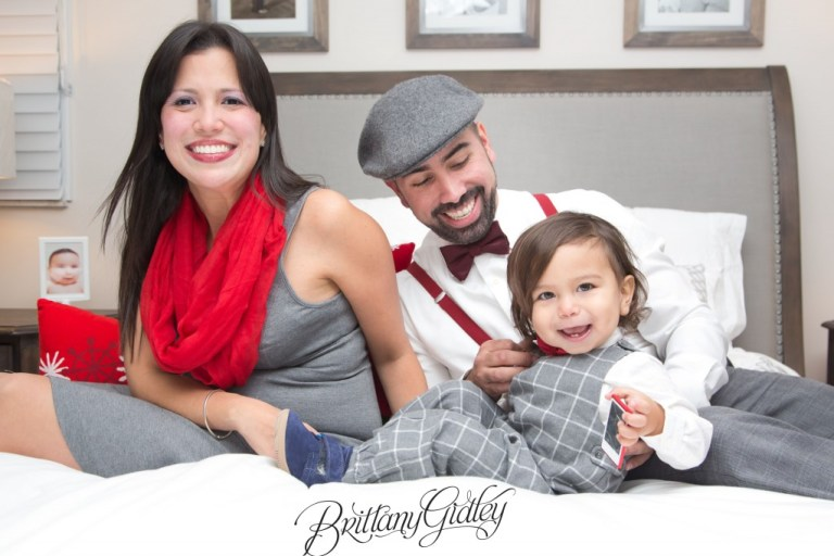 Holiday Photography | Christmas Tree | Toddler | Westlake Ohio | Brittany Gidley Photography LLC