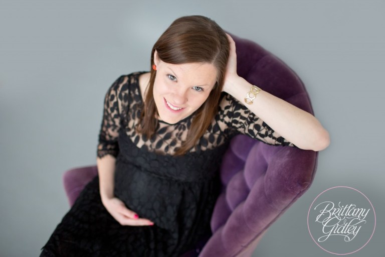 Cleveland Maternity Photographer | Pregnancy | Beautiful | It's A Girl | Start With The Best | Brittany Gidley Photography LLC