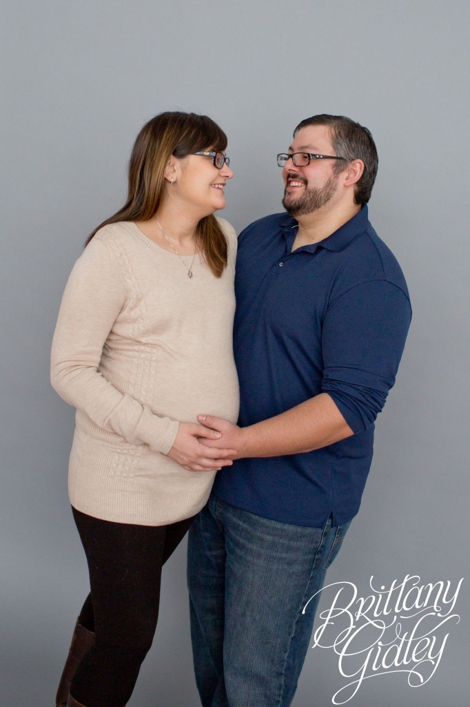 Maternity Photography Studio | Start With The Best | Brittany Gidley Photography LLC | It's a Boy!